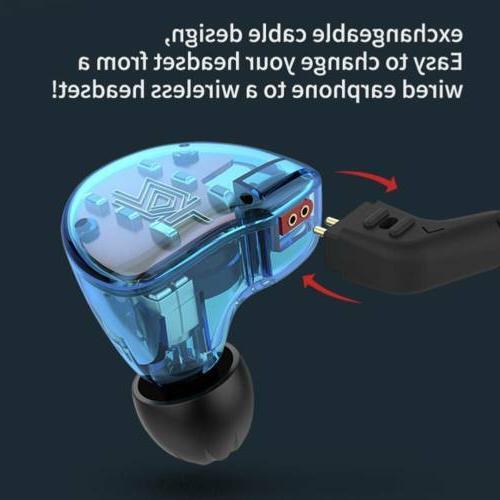 KZ ZS10 Ear Earphone HiFi Monitors Sport Headset