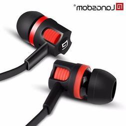 Langsdom JM26 Earphone In-ear Headset with Microphone Earbud