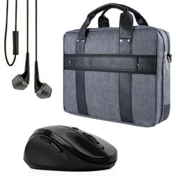 "VanGoddy Laptop Briefcase Shoulder Bag for 17.3"" Asus ROG/HP"