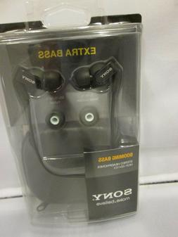 SONY MDRXB41EX New Extra Bass Earbuds - 13.5mm Driver: MDR-X
