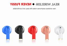 Mini One-Piece Wireless Bluetooth Headphone, EarBuds, AirPod