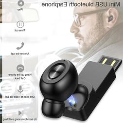 Mini Single Ear Invisible <font><b>Earbuds</b></font> Blueto