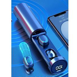 Mini TWS Bluetooth 5.0 Earphones Wireless Headphones Smart T