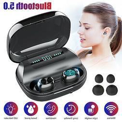 Mini Wireless Bluetooth Earbuds w/ Mic True Bass Twins Stere