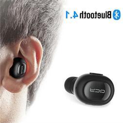 Wireless Bluetooth Headset In-Ear Earbud Earphone with Mic F