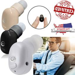 Mini Wireless Bluetooth Headset Headphone Earbud for iphone