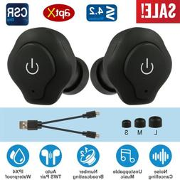 iMounTEK Mini Wireless Bluetooth Stereo Earbuds. Hands Free