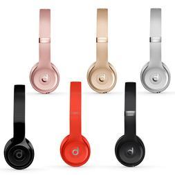 Beats Solo3 Wireless On-Ear Headphones - Black - White - Ros