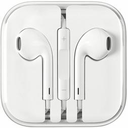 New Earphones EarBuds For iPhone 4, 5, 6 with Microphone and