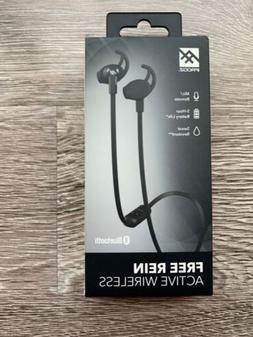NEW iFrogz Free Rein Active Wireless Earbuds - Black IFFRWEB