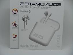 New Tzumi Sound Mates Bluetooth Wireless Earbuds Headphones