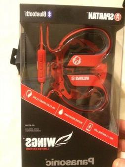 NEW Panasonic WINGS Wireless Bluetooth Earbuds Sport Headpho