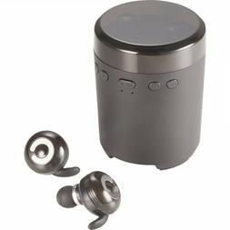 new wireless speaker and truwireless earbuds