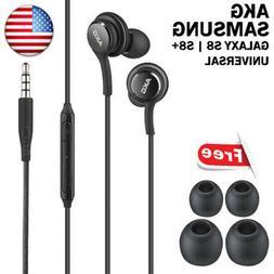 OEM Orginal Samsung S8 S9 AKG Stereo Headphones Handsfree Ea