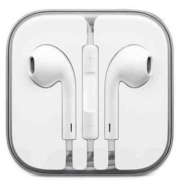 New For iPhone 6S 6 5 5S Wired 3.5MM Jack Headphones Headset