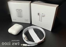 Original i100 tws Wireless Earbuds Smart Sensor Earphone Hea
