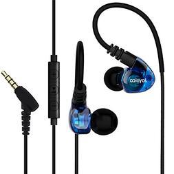 Joysico Over Ear In-ear Headphones Earbuds for Kids Women Sm