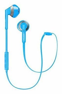 PHILIPS SHB5250 Bluetooth earphone Earbuds Blue SHB5250BL
