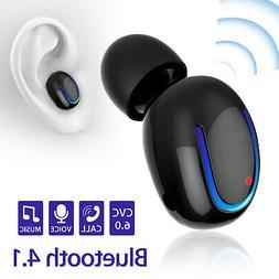Q13 BT Headset Stereo In-Ear Earphone Earbud Earpiece For iP
