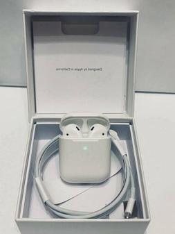 Refurbished Apple AirPods 2nd Generation Earbuds with Wirele
