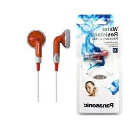 Panasonic RP-HV260-R In-Ear Earbud Stereo Compact Carrying C