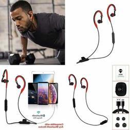 Running Bluetooth Headphones Over Ear Sport Wireless Earbuds