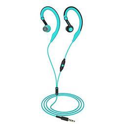 Running Headphones Over Ear in Ear Sport Earbuds Earhook Wir