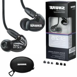 Shure SE215-K Sound Isolating Earphones with Single Dynamic