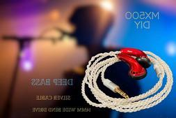 Sennheiser MX500 S DIY upgrade bass HiFi In-Ear Headphones E