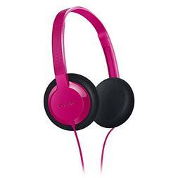 Philips SHK1000PK/28 Kids-On Ear Headphone, Pink