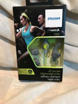 PHILIPS SHQ1300 ActionFit Sports Running Headphones SHQ1300L