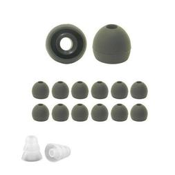 Silicone ear tips for AKG & Samsung 8; replacement earbud ti