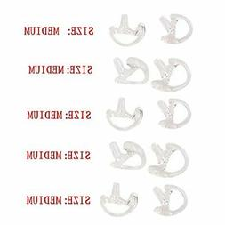 Lsgoodcare 5 Pairs Silicone Replacement Earplug Earmold Ear