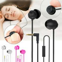 Sleep Earphone Anti-Noise In-Ear Ultra-Soft Headphones Earbu