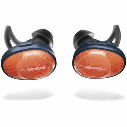soundsport free truly wireless headphones bright orange