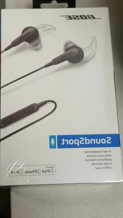 BOSE SOUNDSPORT IN-EAR HEADPHONES FOR APPLE DEVICES 741776-0