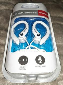 Magnavox STABLE HOOKS Over Ear Earbuds w/Microphone NIP
