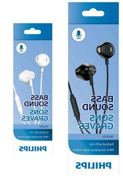 taue101 wired headphones earbuds with microphone