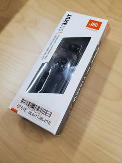 JBL Tune 110 Black Headphones / Earbuds, New In SEALED Box!!