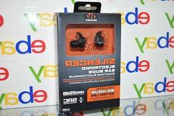 Walker's Silencer Electronic Earbuds GWP-SLCR Black NIB