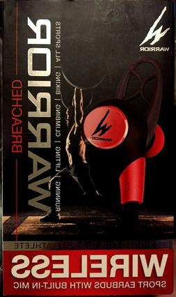 iHip Warrior Breached Wireless Bluetooth Sport Earbuds with