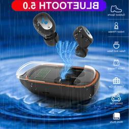 waterproof bluetooth 5 0 earbuds headphones wireless