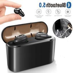 Waterproof Bluetooth 5.0 Earbuds Headphones Wireless Headset