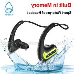 Waterproof Sport Wireless Bluetooth Earbuds HIFI Stereo Head