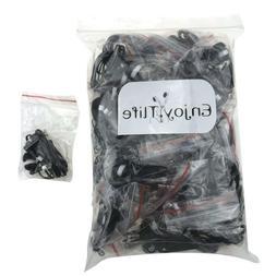 Wholesale Kids Bulk Earbuds Headphones Earphones 50 Pack Bla