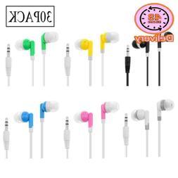 Wholesale Kids Bulk Earbuds Headphones Earphones Assorted Co