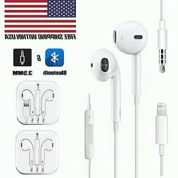 Wired Earbuds Headset Headphones For Apple iPhone 6 7 8 Plus