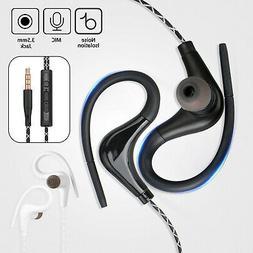 Wired In-Ear Sport Hifi Earphone Earbuds Over Ear Hook Headp