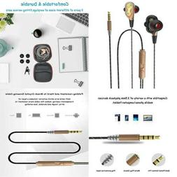 Wired Loud Earbuds W Volume Control Heavy Duty Microphone Sk