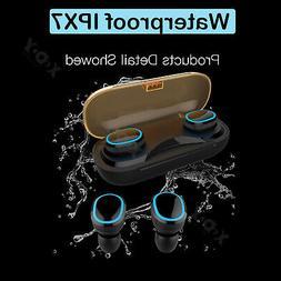 Wireless Bluetooth 5.0 Headphone TWS Earbuds Waterproof Nois